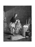 The Morning Toilette Giclee Print by Jean-Simeon Chardin