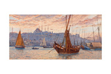 The Golden Horn, Second Half of the 19th C Giclee Print by Tristram James Ellis