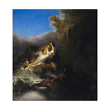 The Abduction of Proserpina, Ca 1631 Giclee Print by  Rembrandt van Rijn