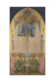 The Coronation of the Virgin, 1380S Giclee Print by Agnolo Gaddi