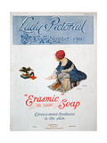 Advert for 'Erasmic' Soap, 1918 Giclee Print