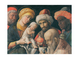 The Adoration of the Magi, C. 1500 Giclee Print by Andrea Mantegna