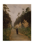Autumn Day. Sokolniki, 1879 Giclee Print by Isaak Ilyich Levitan