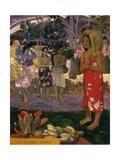Ia Orana Maria (Hail Mar), 1891 ジクレープリント : ポール・ゴーギャン