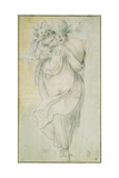 Gypsy with a Child, Early 17th C Giclee Print by Jacques Bellange