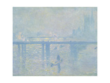 Charing-Cross Bridge in London, 1899 Giclee Print by Claude Monet