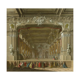 The Interior of a Theatre, Early 18th C Giclee Print