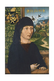 Portrait of Levinus Memminger, Ca 1485 Giclee Print by Michael Wolgemut