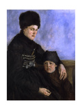 Dachau Woman with Child, 1873-1874 Giclee Print by Wilhelm Leibl