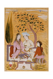 Amorous Couple and a Servant, 1696 Giclee Print by Mu'in Musavvir