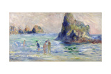 Moulin Huet Bay, Guernsey, Ca. 1883 Giclee Print by Pierre-Auguste Renoir