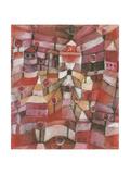 Rose Garden, 1920 Giclée-Druck von Paul Klee