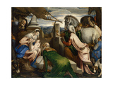 The Adoration of the Magi, Ca 1555 Giclee Print by Jacopo Bassano
