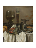 Still Life with Drinking Vessels, 1649 Giclee Print by Pieter Claesz