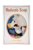Granny's Treasure, Hudson's Soap Advert, 1918 Giclee Print
