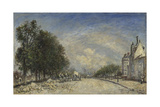 The Boulevard De Port-Royal, Paris, 1877 Giclee Print by Johan Barthold Jongkind
