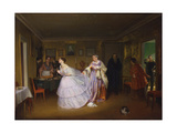 The Major Makes a Proposal, 1851 Giclee Print by Pavel Andreyevich Fedotov