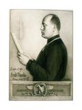Benito Mussolini, 1925 Giclee Print