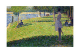 Study for La Grande Jatte, 1884-1885 Giclee Print by Georges Seurat