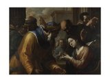 Christ Disputing with the Doctors, 1660S Giclee Print by Gregorio Preti