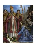 Saint Zenobius Revives a Dead Boy, C. 1615 Giclee Print by Giovanni Bilivert