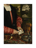 The Merchant Georg Gisze (Detail), 1532 Giclee Print by Hans Holbein the Younger