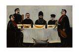 Six Princes (Feas), 1905-1907 Giclee Print by Niko Pirosmani