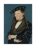 Portrait of a Woman, 1539 Giclee Print by Lucas Cranach the Younger