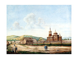 Church in Chita, 1829-1839 Giclee Print by Nikolai Alexandrovich Bestuzhev