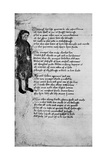 Chaucer's Ymage, 1900 Giclee Print
