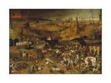 The Triumph of Death, Ca 1562-1563 Wydruk giclee autor Pieter Bruegel the Elder