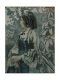 Portrait of a Lady, 1902 Giclee Print by Viktor Elpidiforovich Borisov-musatov
