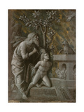 The Sacrifice of Isaac, C.1490-1495 Giclee Print by Andrea Mantegna