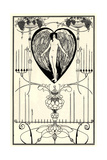 Illustration for the Mirror of Love by Marc-André Raffalovich, 1895 Giclee Print by Aubrey Beardsley