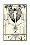Illustration for the Mirror of Love by Marc-André Raffalovich, 1895 Lámina giclée por Aubrey Beardsley