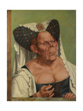 An Old Woman (The Ugly Duches), C. 1513 Giclee Print by Quentin Massys