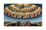 The Assumption of the Virgin, Ca 1475 Giclee Print by Francesco Botticini