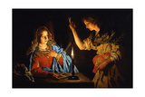 The Annunciation, Early 17th C Giclee Print by Matthias Stomer