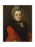 Portrait of Anna Ivanovna Kolycheva, 1768 Giclee Print by Alexei Petrovich Antropov
