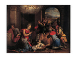 The Adoration of the Shepherds, 1536-1537 Giclee Print by Benvenuto Tisi Da Garofalo