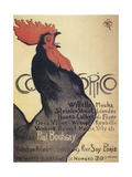 Cocorico, Poster, 1899 Giclee Print by Theophile Alexandre Steinlen