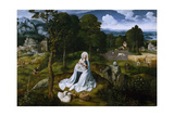 Rest on the Flight into Egypt, 1518-1520 Giclee Print by Joachim Patinir
