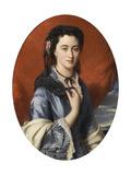 Portrait of Countess Varvara Musina-Pushkina (1832-188), 1864 Giclee Print by Franz Xavier Winterhalter