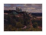 Cathedral in Vyatka, 1916 Giclee Print by Appolinari Mikhaylovich Vasnetsov