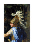Alexander the Great (Alexander and Porus, Detai), 1673 Giclee Print by Charles Le Brun