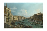 A Regatta on the Grand Canal, C. 1740 Giclee Print by  Canaletto