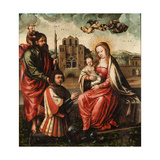 The Virgin of Cristóbal Colón Giclee Print