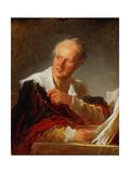 Portrait of Denis Diderot, Ca 1769 Reproduction procédé giclée par Jean-Honoré Fragonard