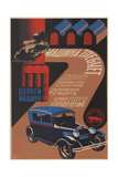 Take Care of Your Car, 1930 Giclee Print by Sergei Dmitrievich Igumnov