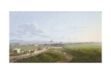 View of Vienna from the Spinner on the Cross, 1817 Giclee Print by Jakob Alt